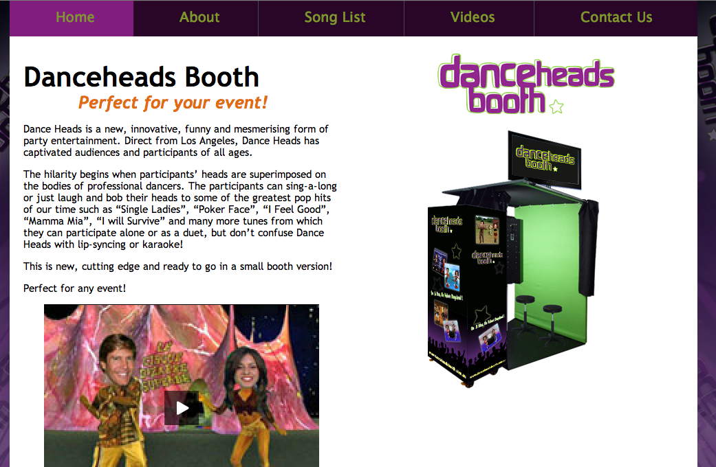 DanceHeadsBooth