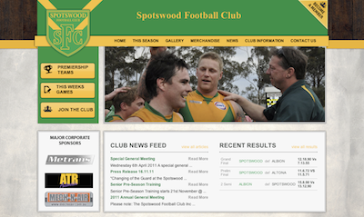 Spotswood Web Design - Wordpress